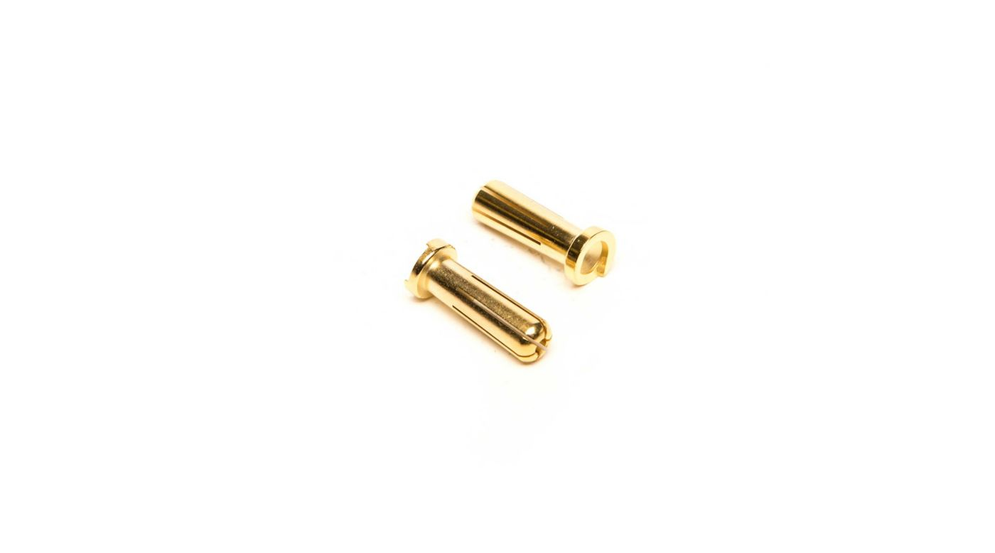 Image for 5mm Gold Connector Low profile (2) from HorizonHobby
