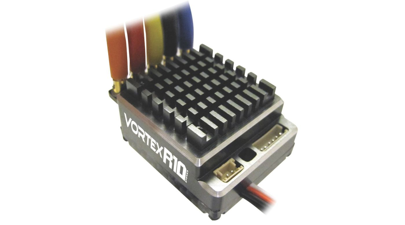 Image for Vortex R10 Pro Brushless ESC (160A, 2-3S) from HorizonHobby