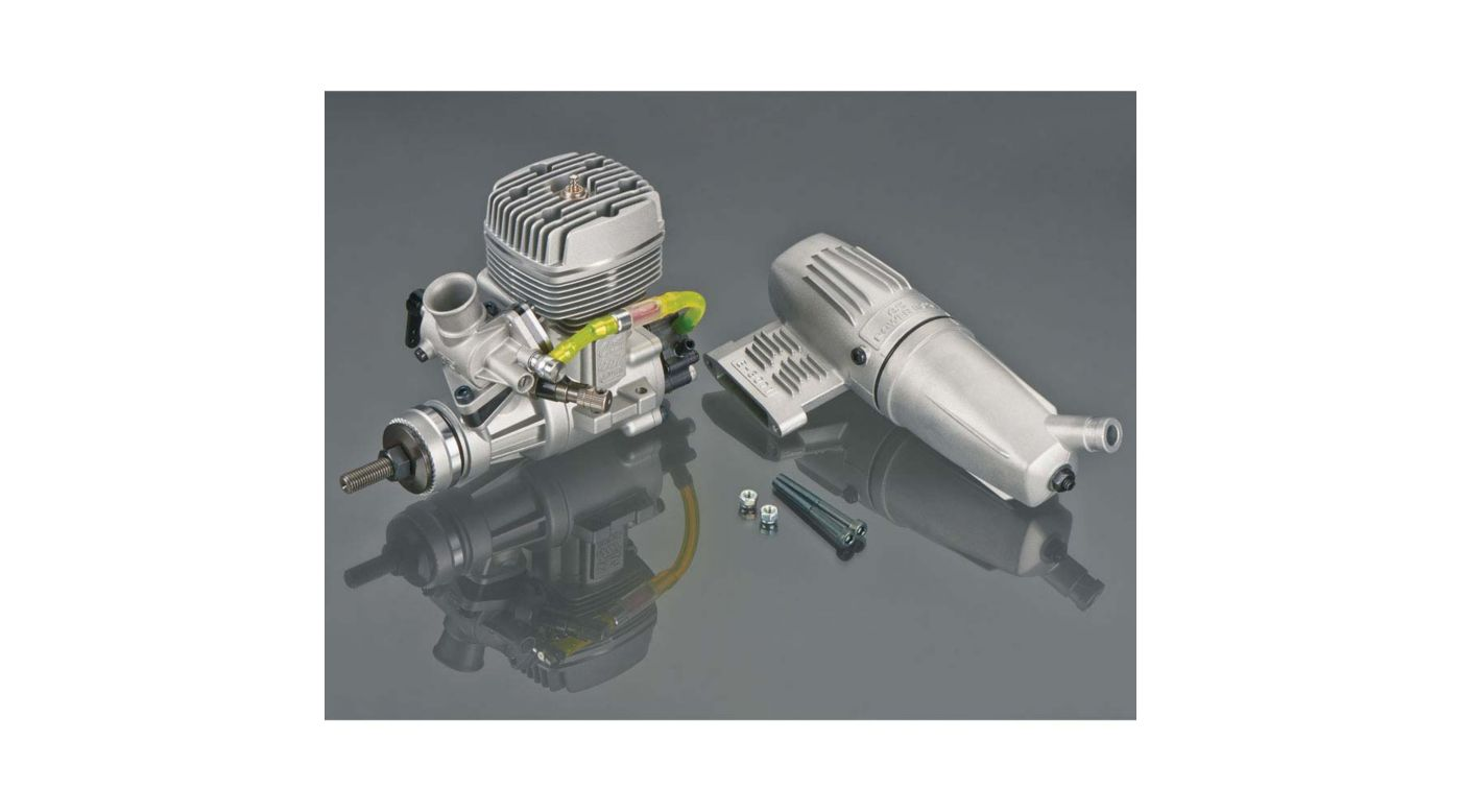 Image for GGT10 10cc Gas Glow Ignition 2-Cycle Engine with Muffler from HorizonHobby