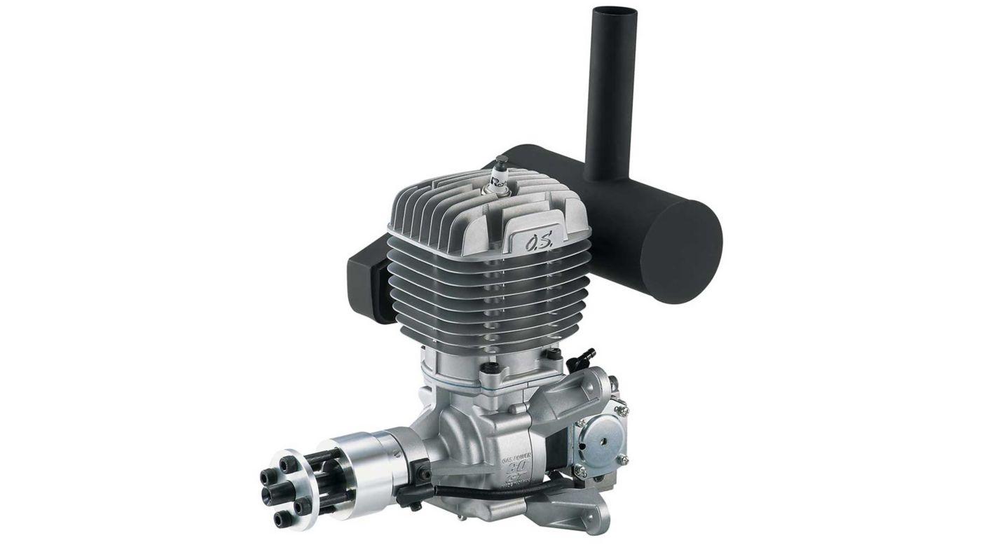 Image for GT60 60cc Gas Airplane Engine with Muffler from HorizonHobby