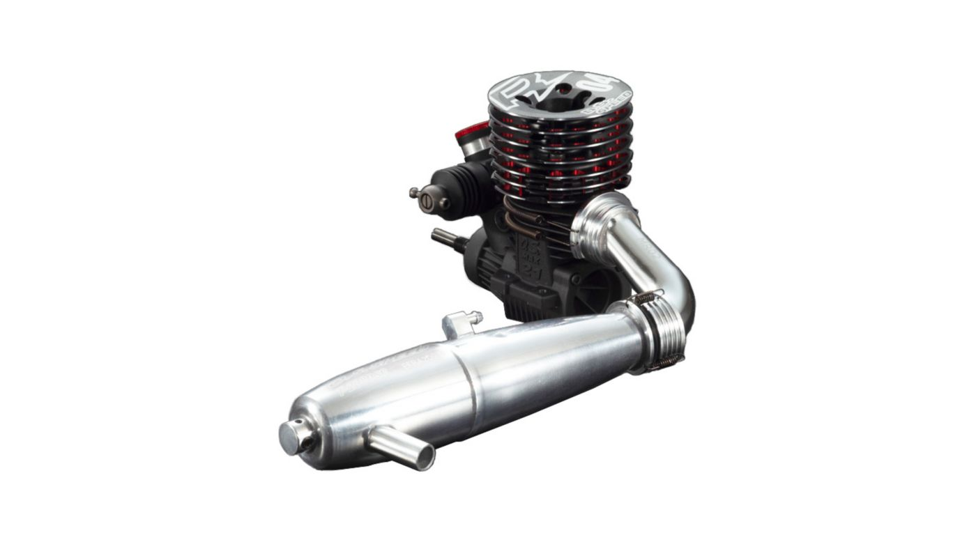 Image for O.S. Speed R2104 1/8 Scale Engine with T-2080SC II Silencer Set from HorizonHobby