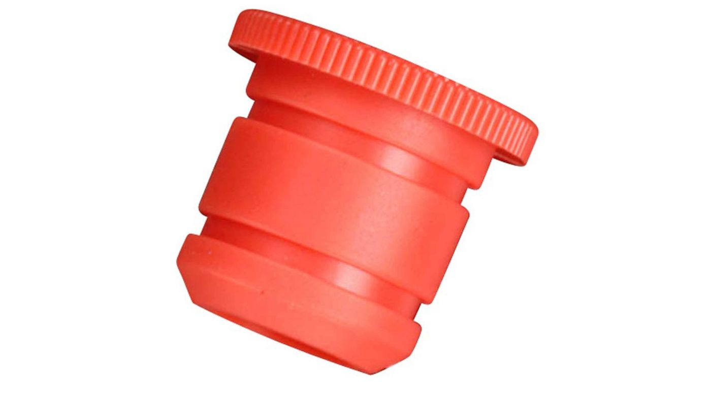 Image for Carburetor Reducer 8mm, Red: 21VZB (P) V-Spec from HorizonHobby