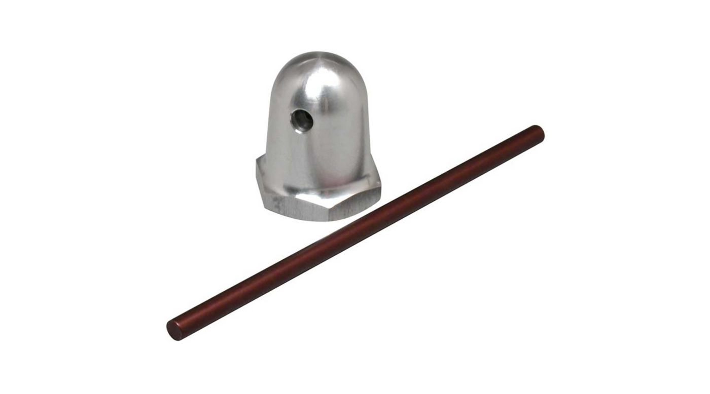 Image for Spinner Nut: 60-91 from HorizonHobby
