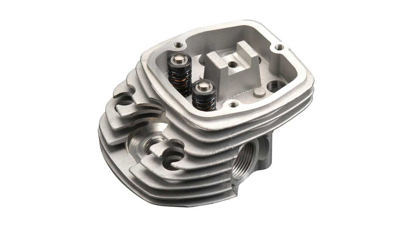 Image for Cylinder Head & Valve: FF-320 from HorizonHobby
