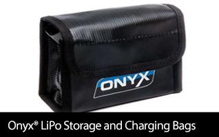 Onyx LiPo Storage and LiPo Charging Sacks