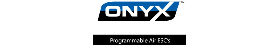 Onyx Brushless Programmable ESCs