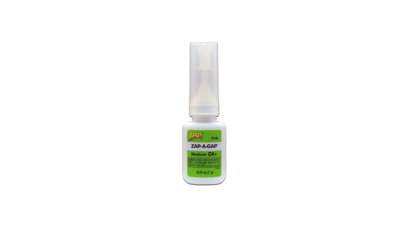 Image for Zap-A-Gap Medium CA+ Glue, 1/4 oz from HorizonHobby