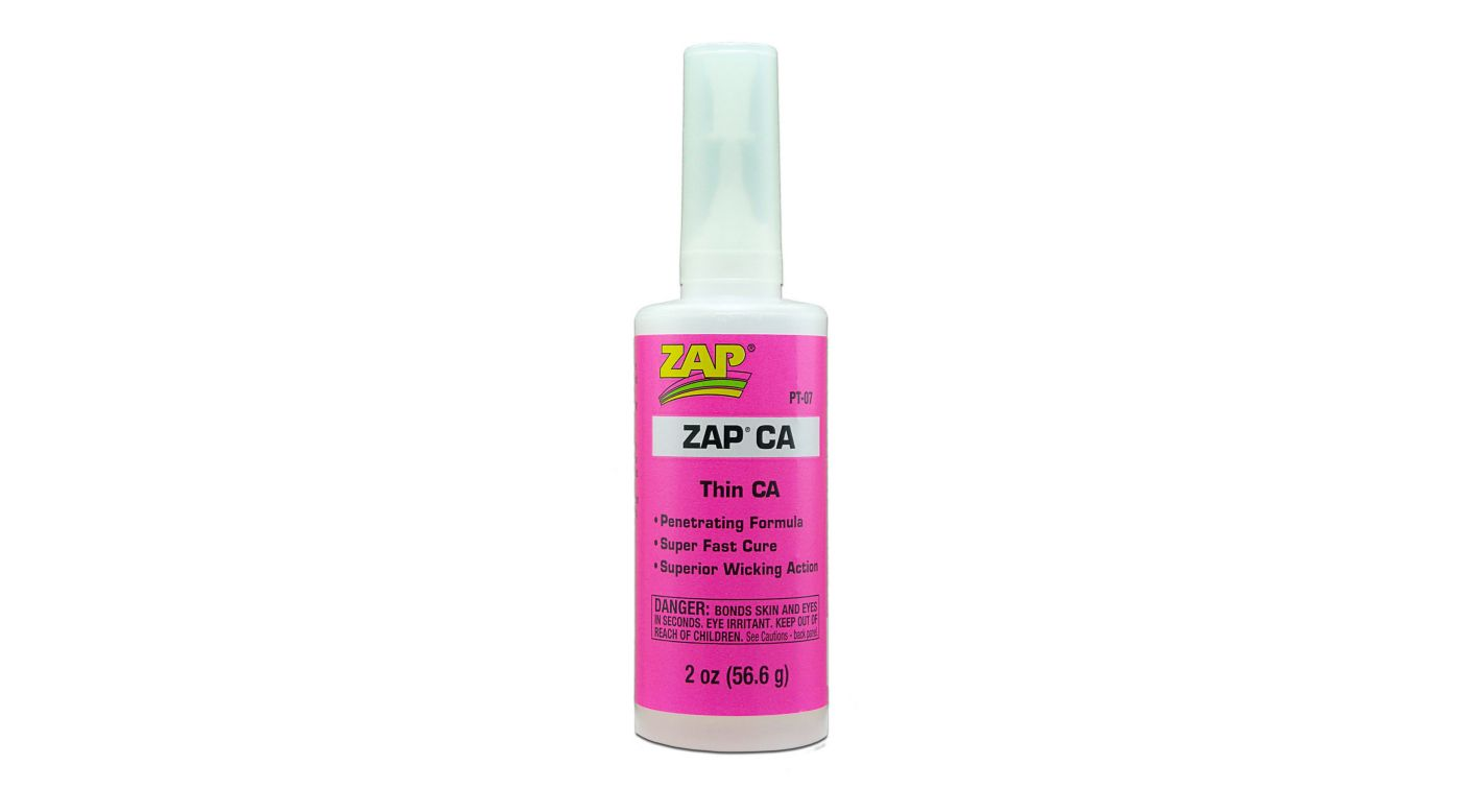 Image for Zap Thin CA Glue, 2 oz from HorizonHobby