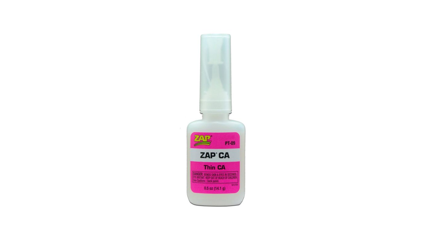 Image for Zap Thin CA Glue, 1/2 oz from HorizonHobby