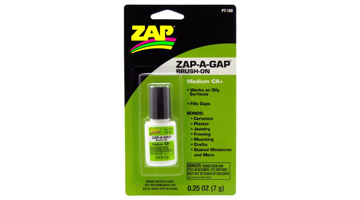 Image for Zap-A-Gap Brush-On Medium CA+, .25 oz, Carded from HorizonHobby