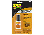 ZAP Glue - Plasti-Zap Brush On Medium CA, .25 oz, Carded