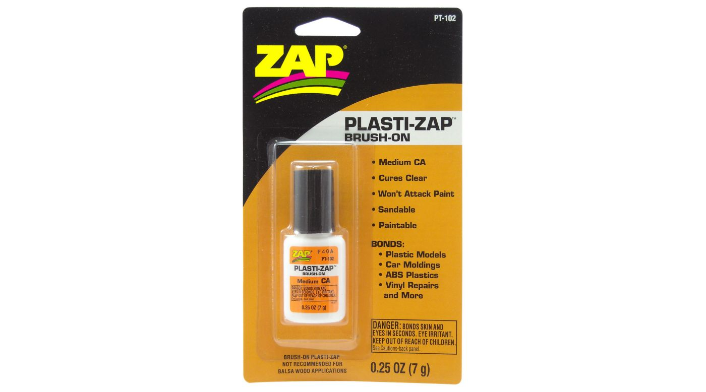 Image for Plasti-Zap Brush On Medium CA, .25 oz, Carded from HorizonHobby