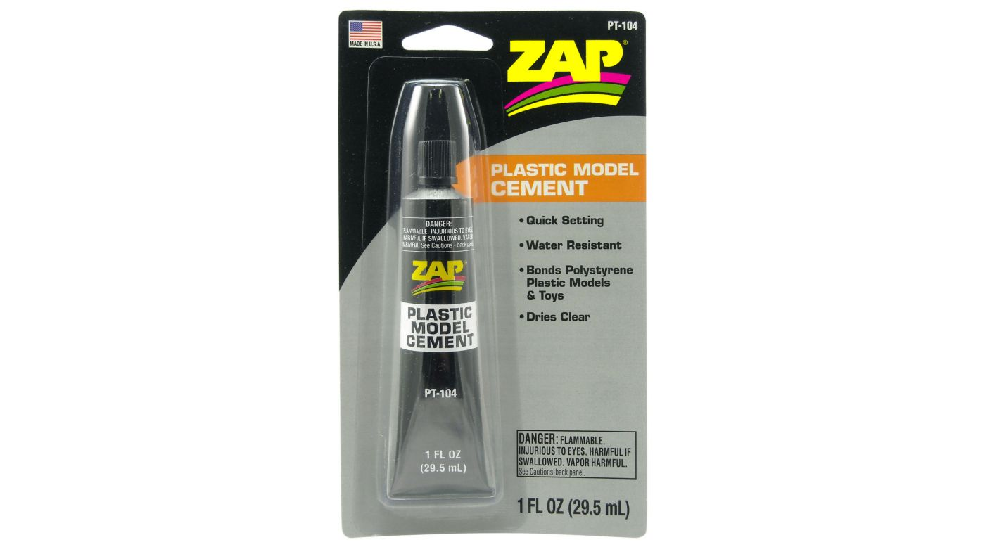 Image for Plastic Model Cement, 1 oz, Carded from HorizonHobby