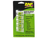 ZAP Glue - Zap-A-Gap Medium CA+ Single Use Tubes, 5 x 1/2 gram, Carded
