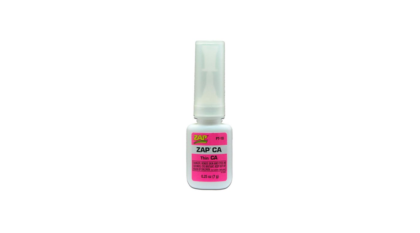 Image for Zap Thin CA Glue, 1/4 oz from HorizonHobby