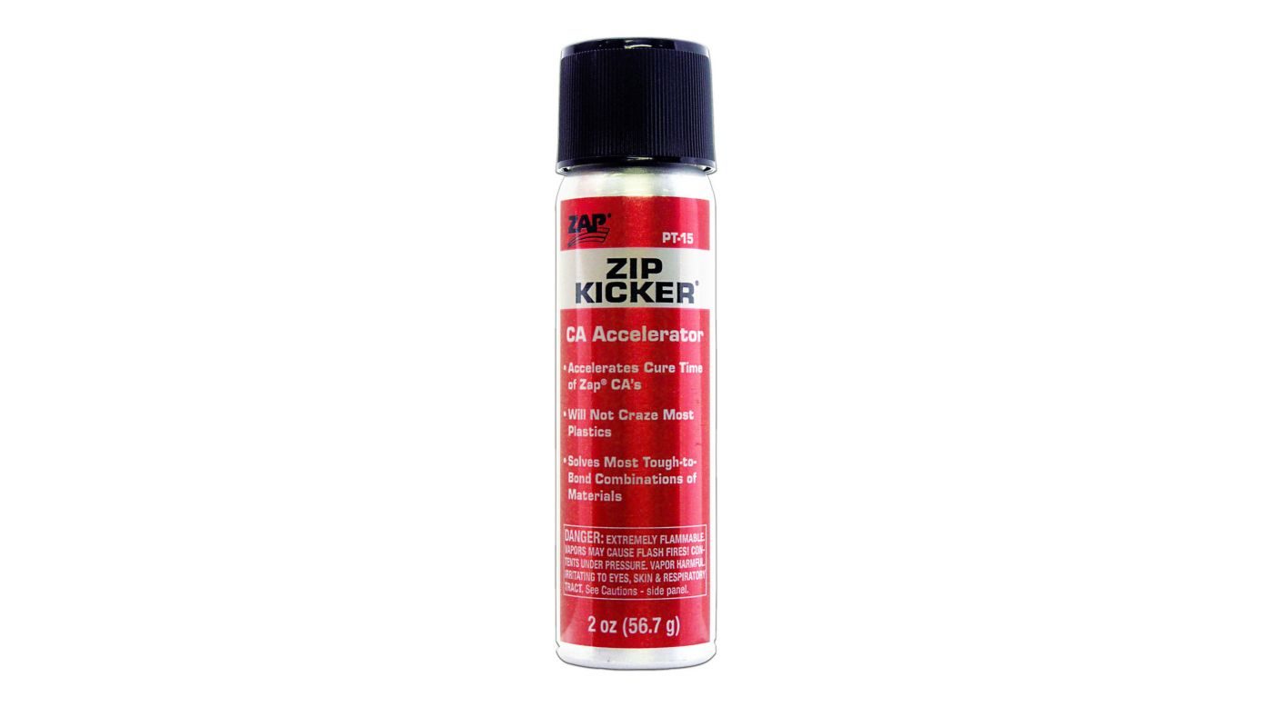 Image for Zip Kicker CA Accelerator, Aerosol, 2 oz from HorizonHobby
