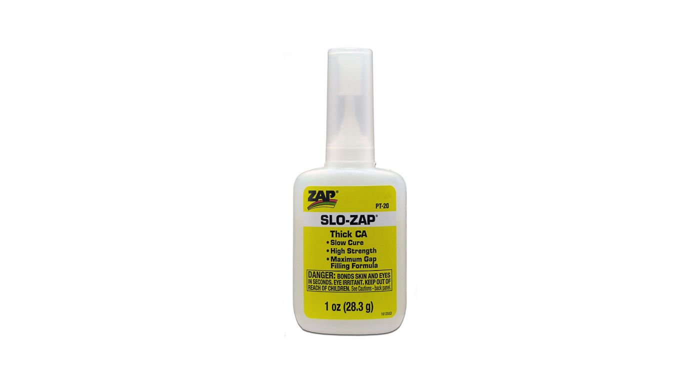 Image for Slo-Zap Thick CA Glue, 1 oz from HorizonHobby