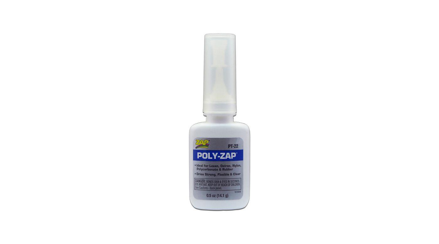 Image for Poly-Zap Glue, 1/2 oz from HorizonHobby