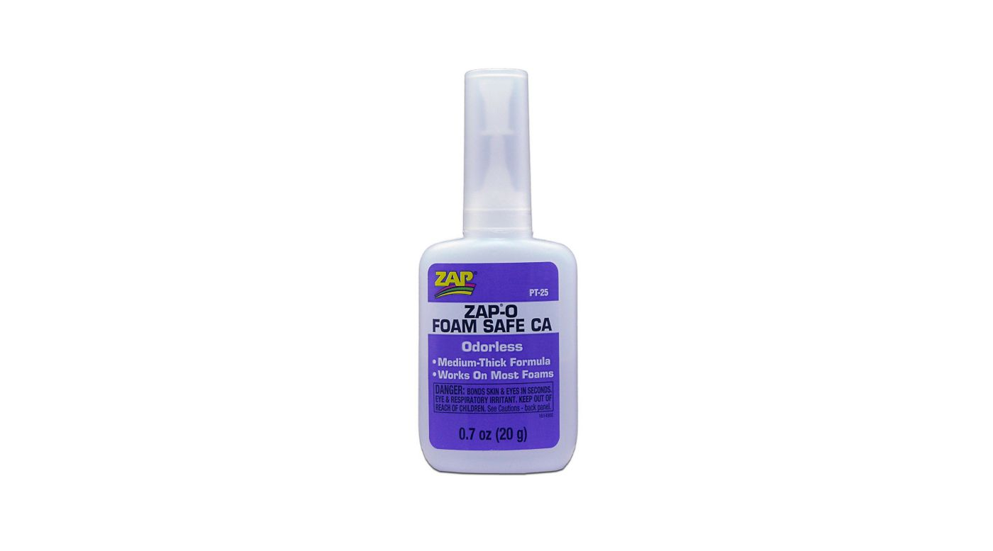Image for ZAP-O Foam Safe CA Glue, .7 oz from HorizonHobby