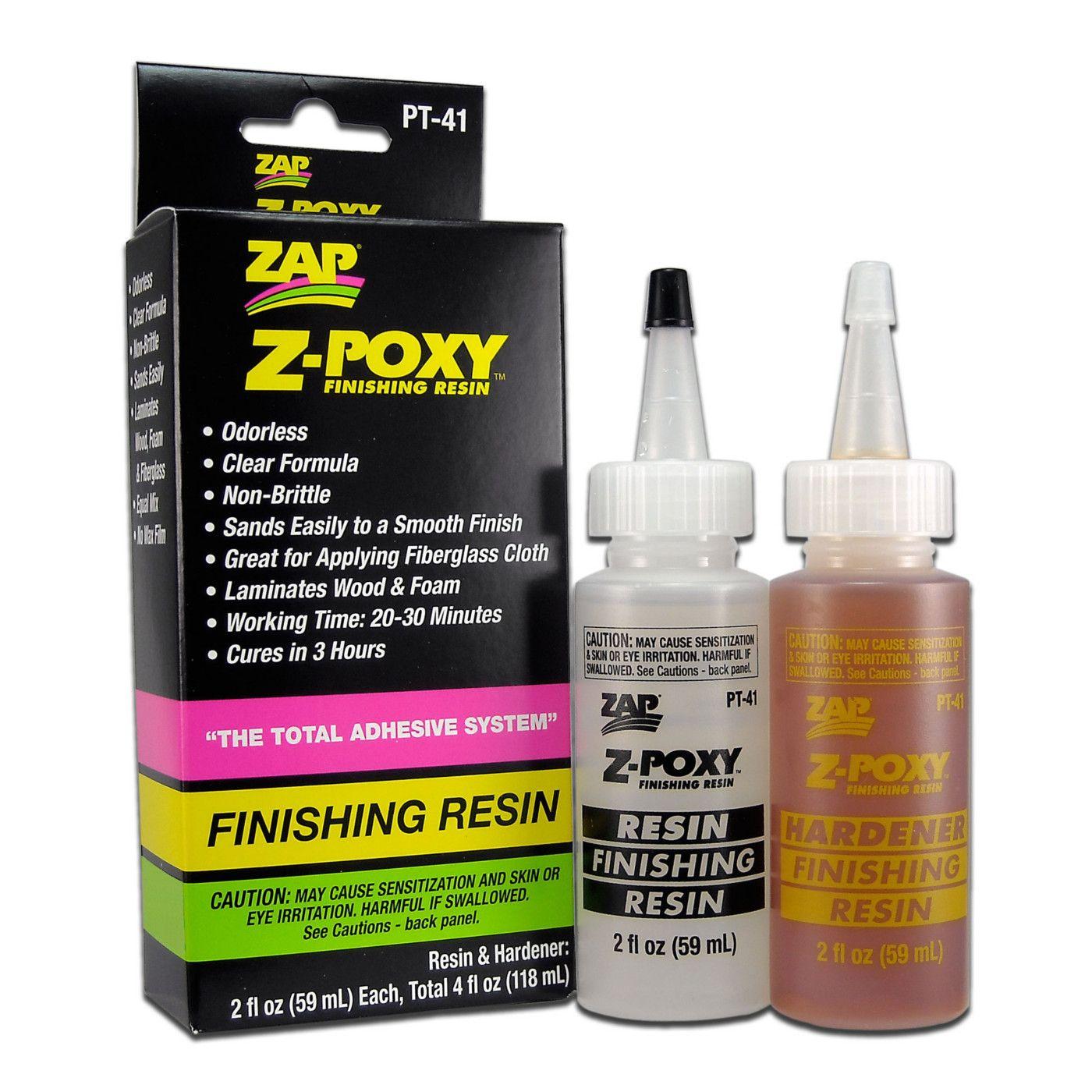 Z-Poxy Finishing Resin, 4oz  (PAAPT41)