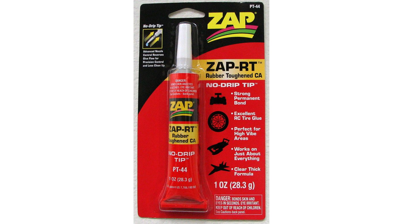 Image for ZAP-RT Rubber Toughened CA, 1 oz from HorizonHobby