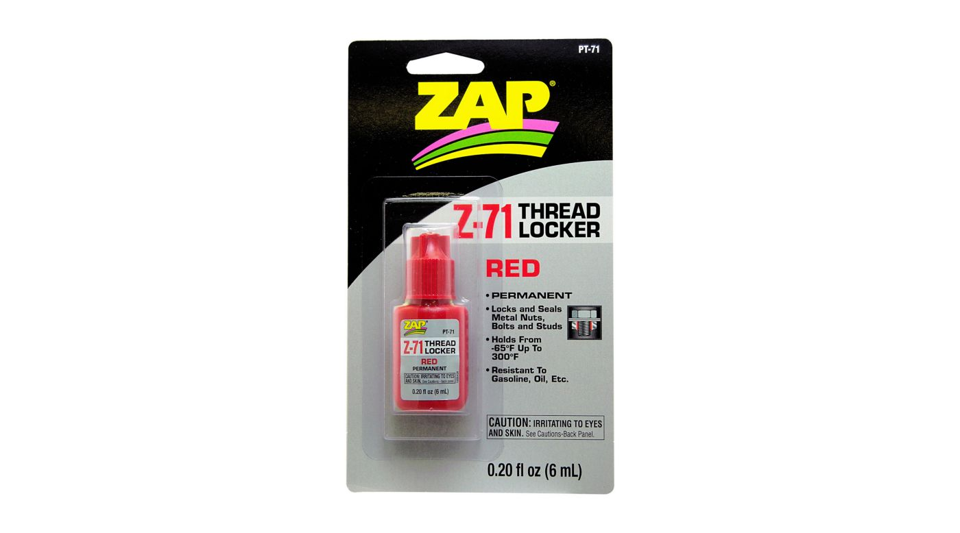 Image for Z-71 Permanent Thread Lock, .20 oz from HorizonHobby