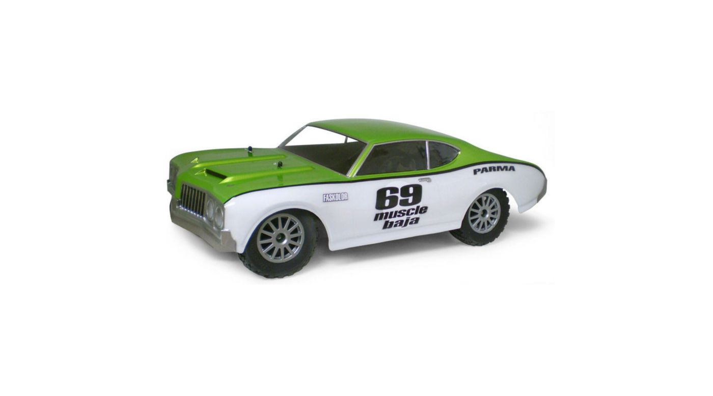 Image for 69 Muscle Baja Short Course Clear Body from HorizonHobby