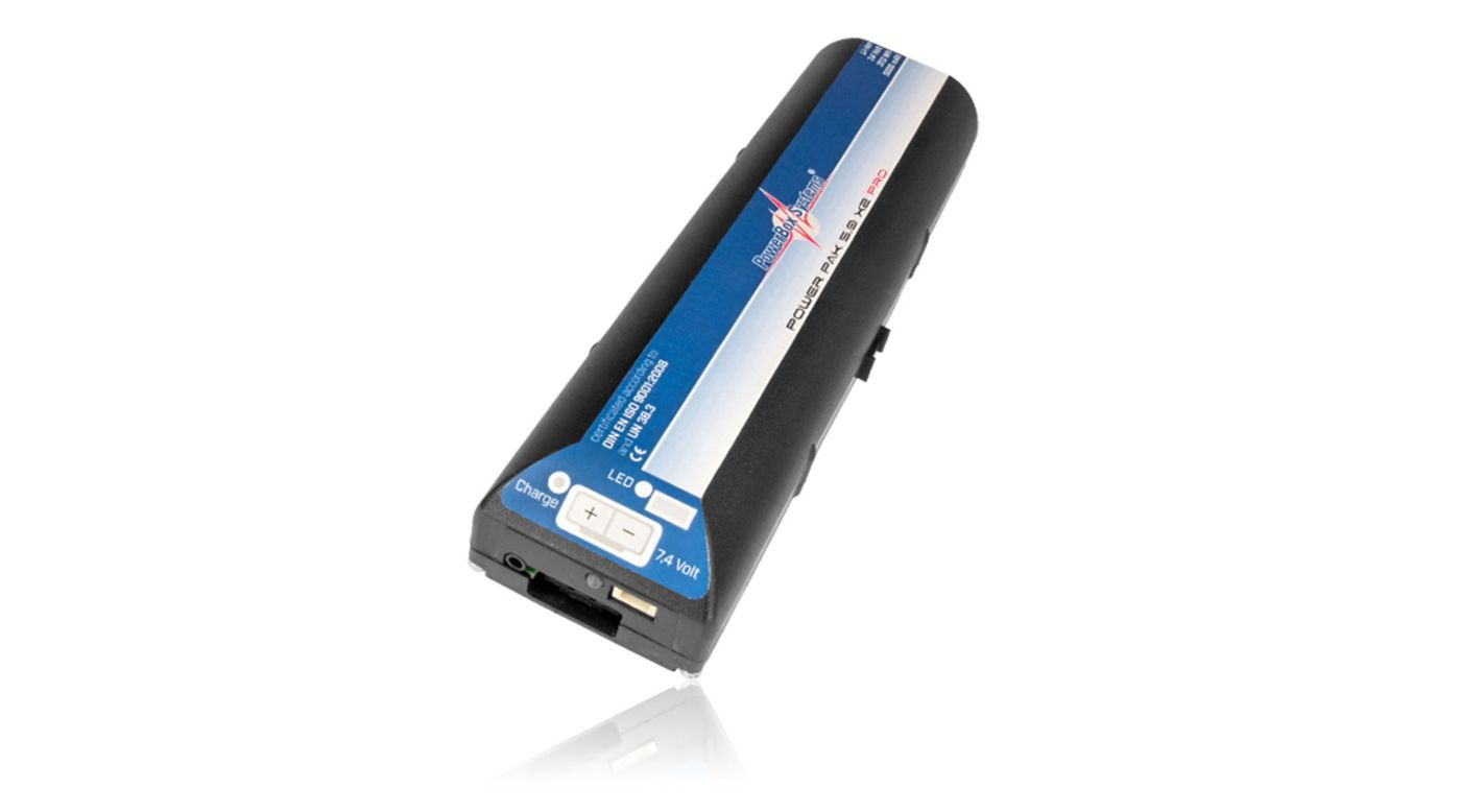 Image for PowerPak 2.5X2 5000mAh PRO Li-Ion Receiver Battery and Mount from HorizonHobby