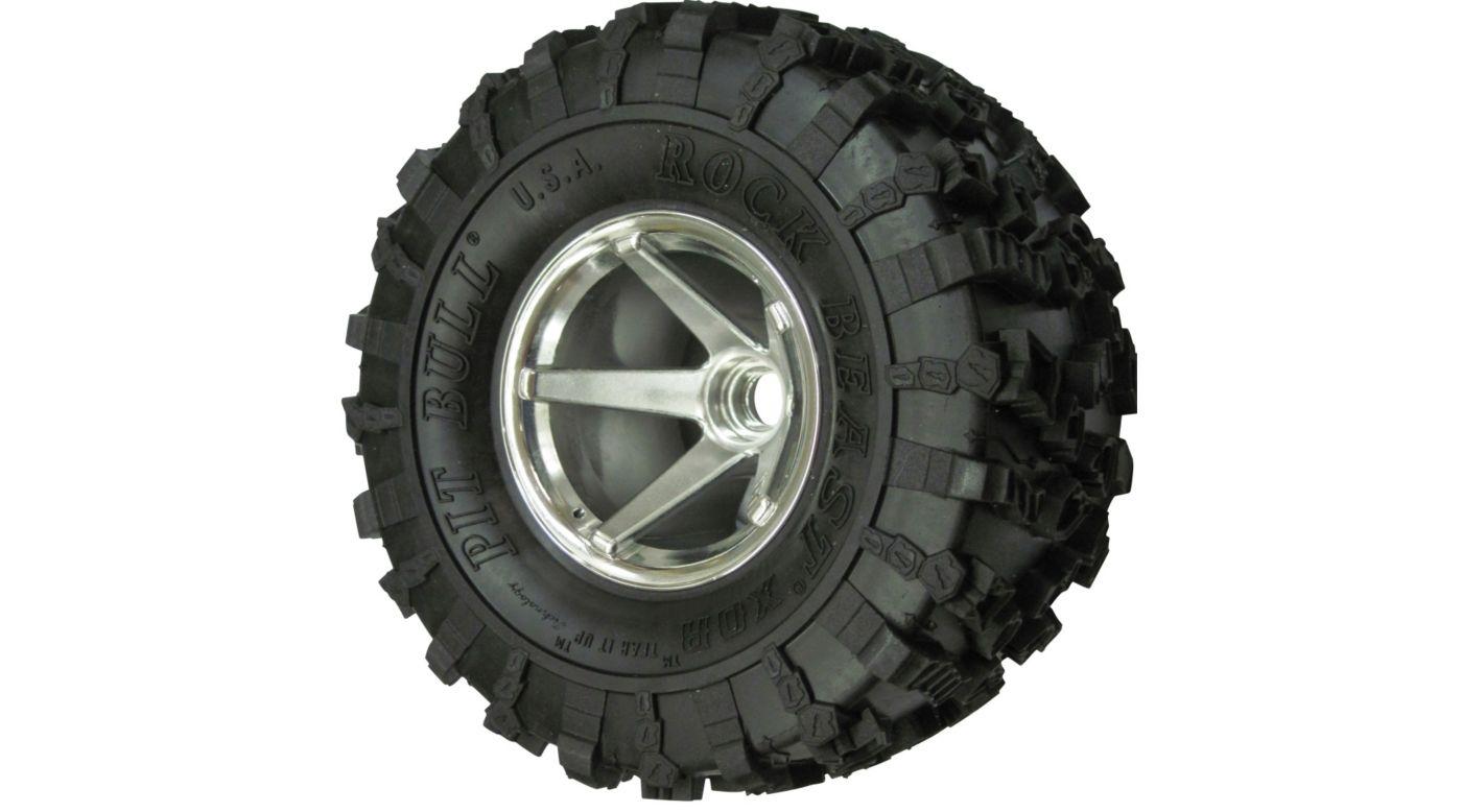 Image for Rock Beast XOR 2.2 Crawler Tire KK (2), No Foam from HorizonHobby