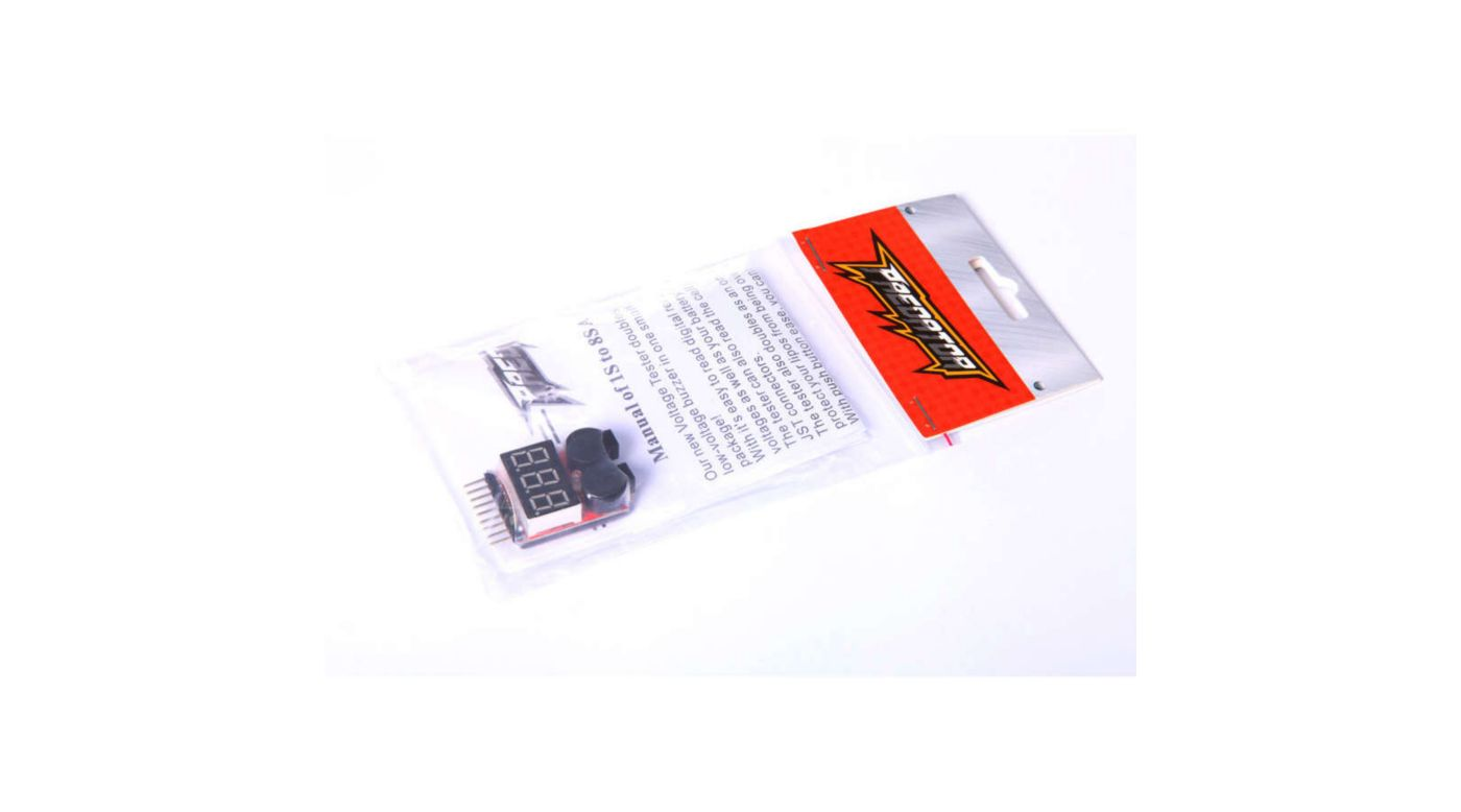 Image for LiPo Voltage Checker,  1 to 8 Cell from HorizonHobby