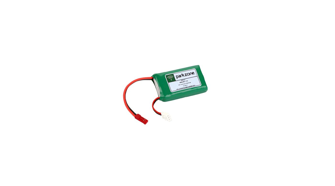 Image for 7.4V 800mAh Li-Po Battery from HorizonHobby