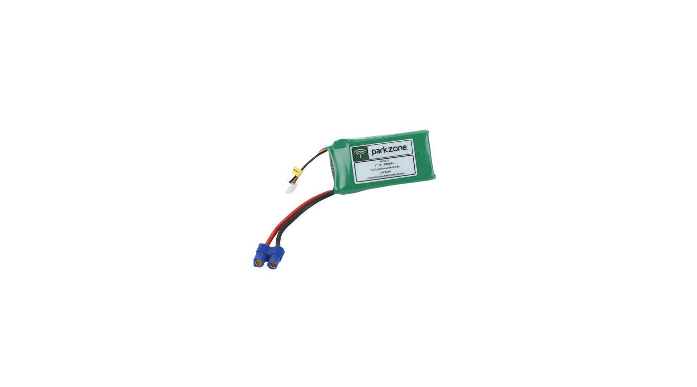 Image for 11.1V 1300mAh 3S LiPo Battery: EC3 from HorizonHobby