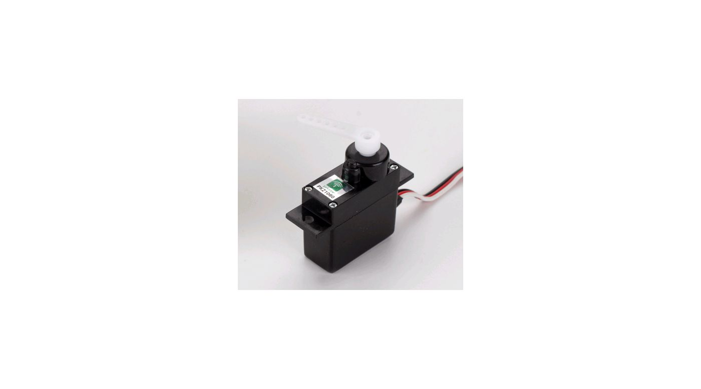 Image for Mini Servo (3W) with Arms, Short Lead from HorizonHobby