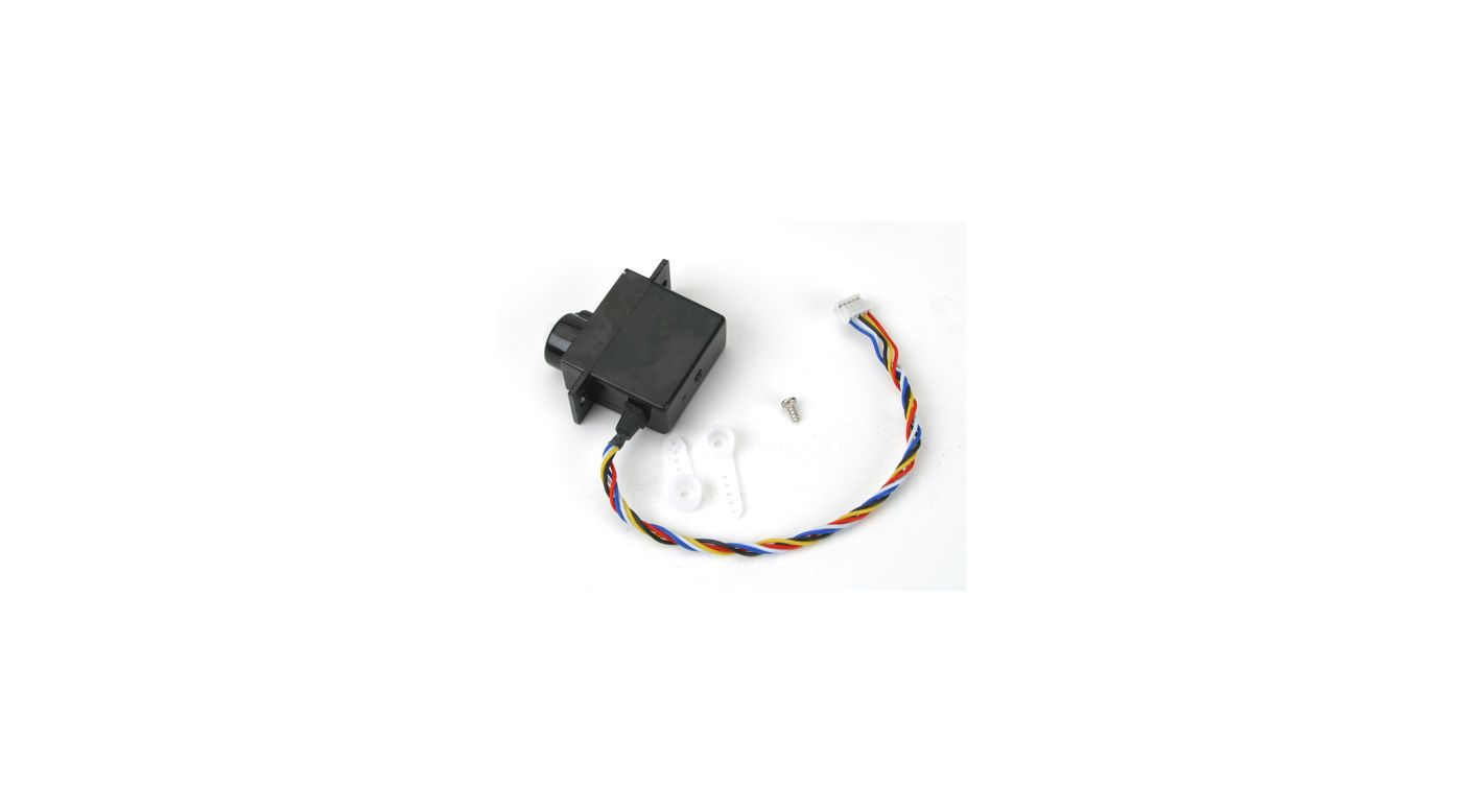 Image for Mini Servo (5W) with Arms, Short Lead from HorizonHobby
