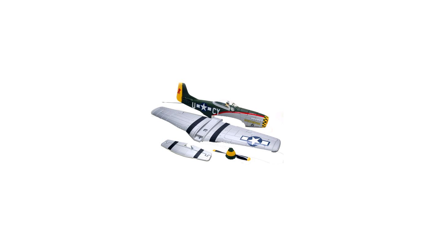 Image for Replacement Airframe: P-51 Mustang BL from HorizonHobby