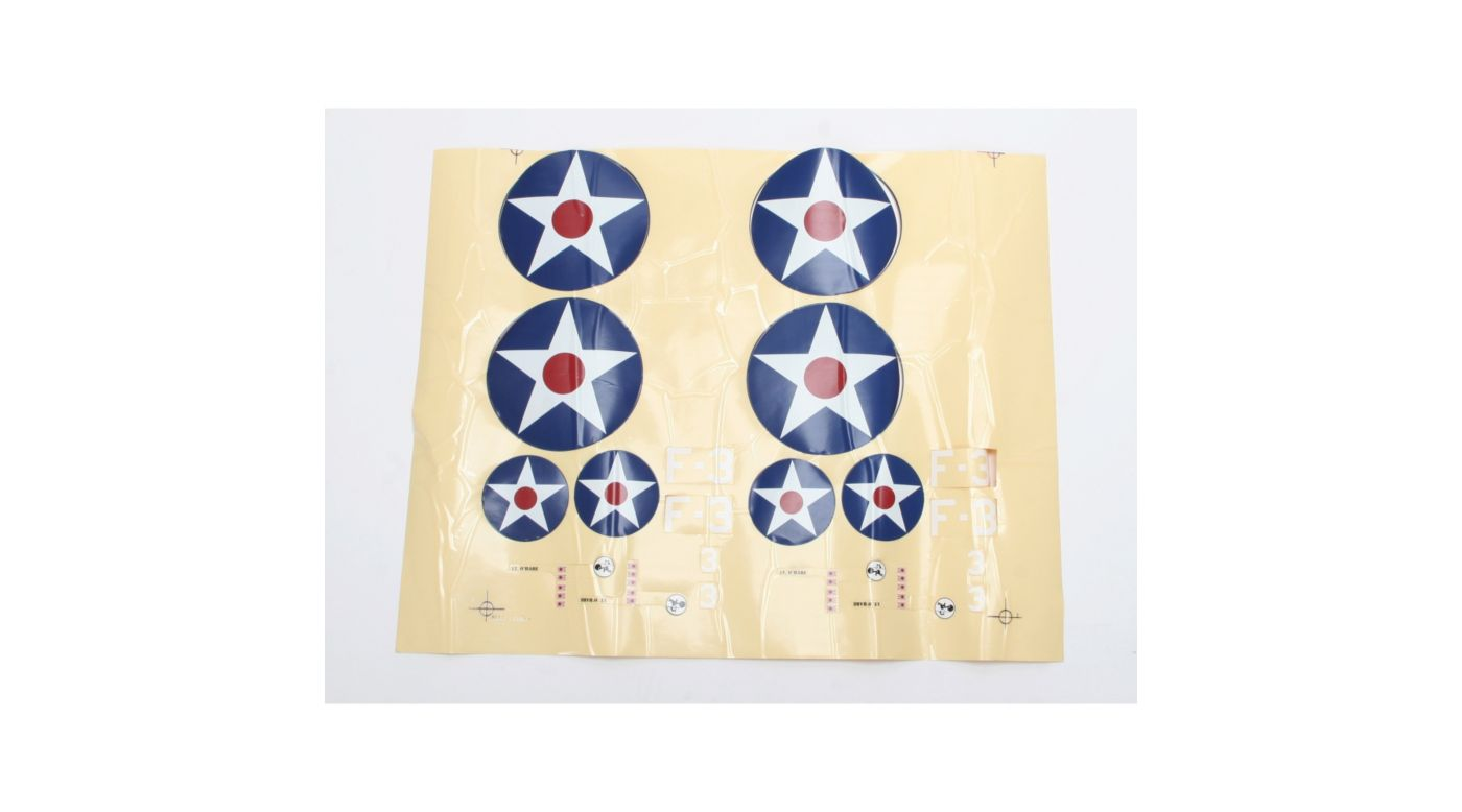 Image for Decal Sheet: F4F Wildcat from HorizonHobby