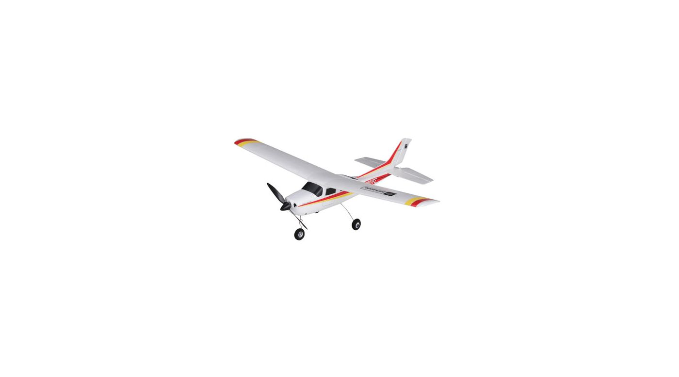 Image for Cessna 210 Centurion RTF Electric Red/Yellow from HorizonHobby