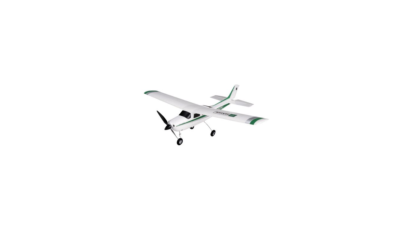 Image for Cessna 210 Centurion RTF Electric Green/Silver from HorizonHobby