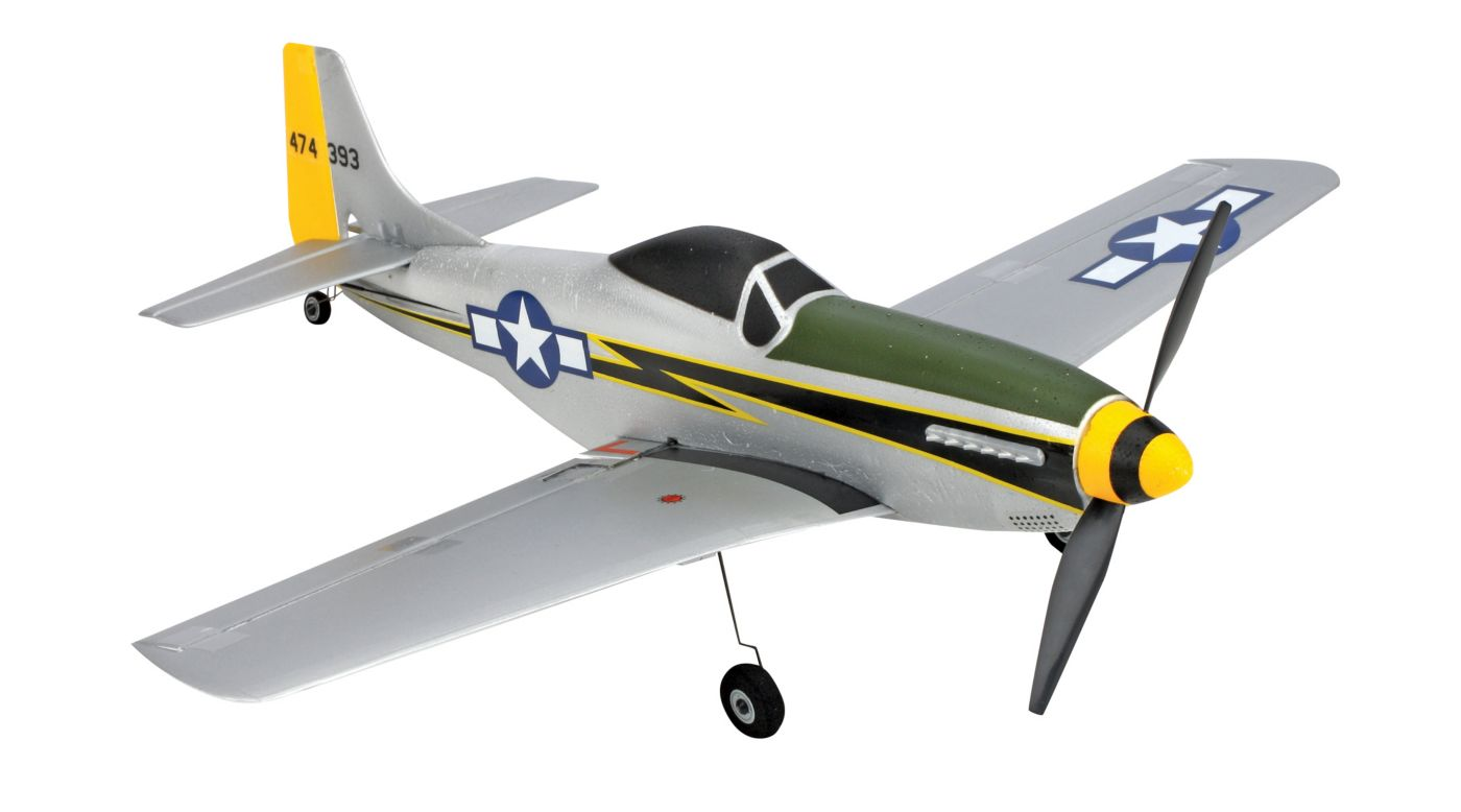 Image for Ultra Micro P-51 BNF from HorizonHobby