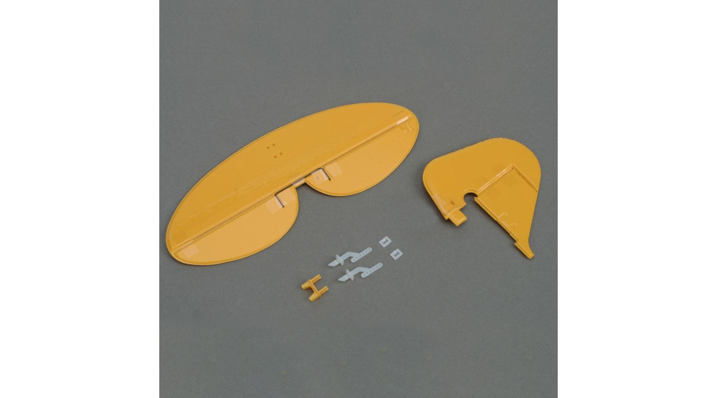 Image for Tail Set with hardware: Ultra Micro J-3 Cub from HorizonHobby