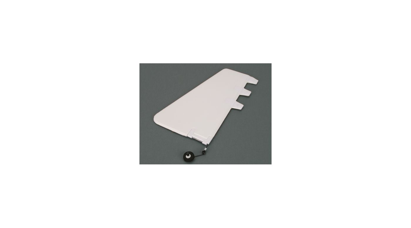 Image for Rudder and Tail Wheel: Typhoon 2 from HorizonHobby