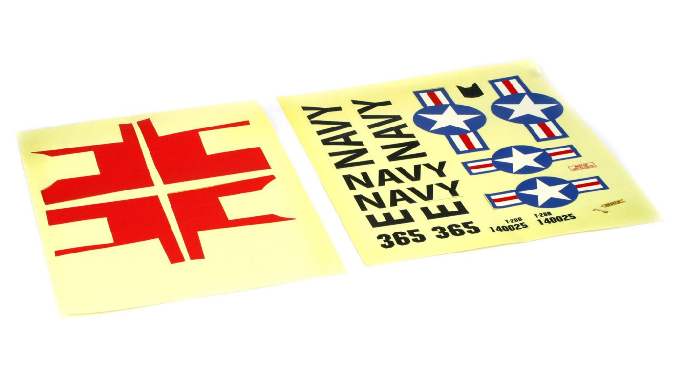 Image for Decal Sheet: T-28 Trojan from HorizonHobby