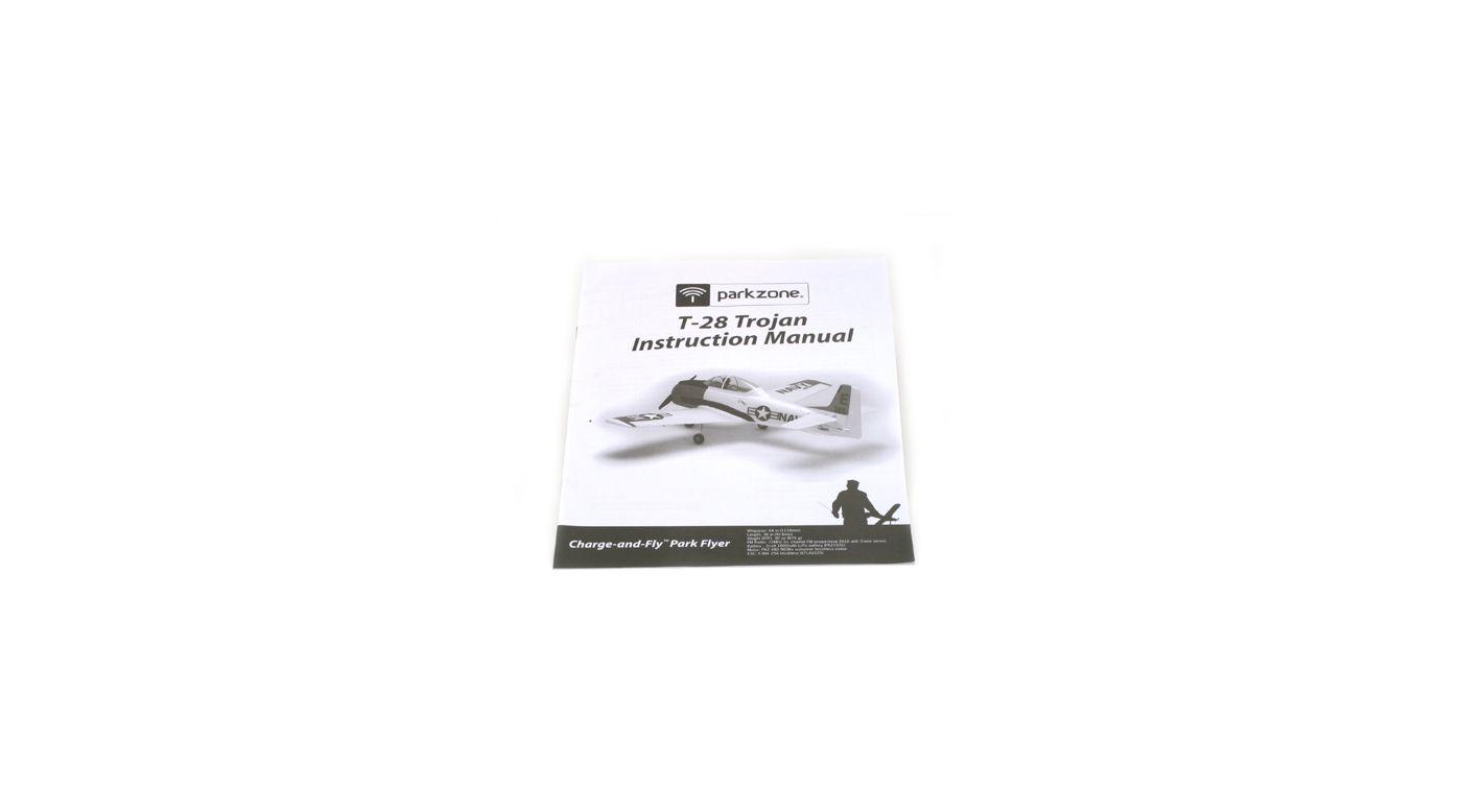 Image for Instruction Manual: T-28 Trojan from HorizonHobby