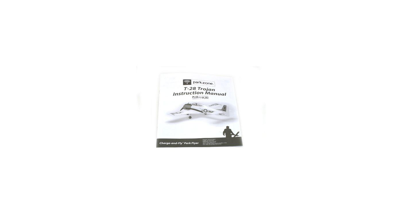 Image for Instruction Manual: T-28 Trojan PNP from HorizonHobby