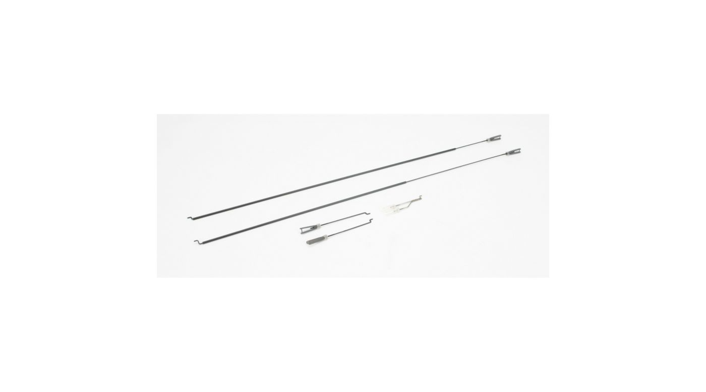 Image for Pushrod set with Clevis: SR-10 from HorizonHobby