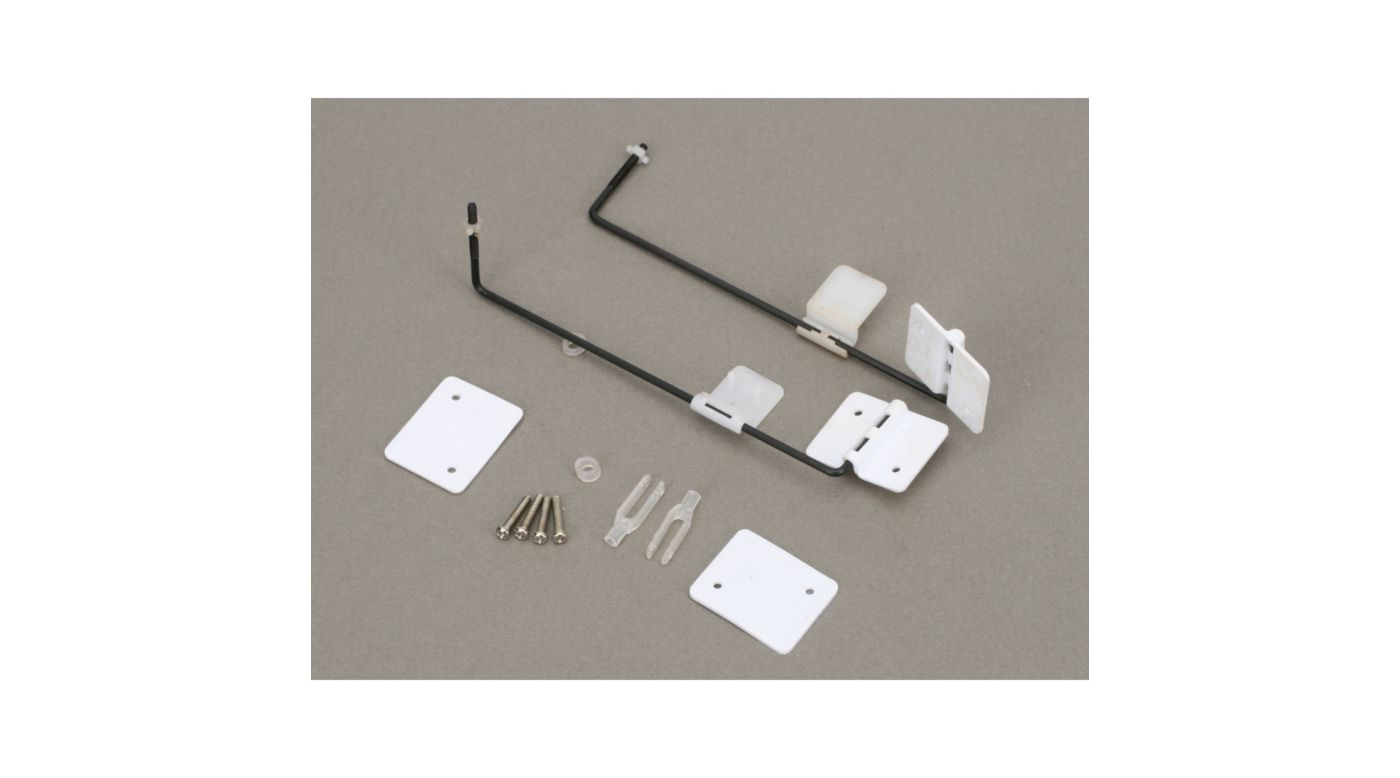Image for Optional Flap Hardware Set: SR-10 (No Servo Included) from HorizonHobby