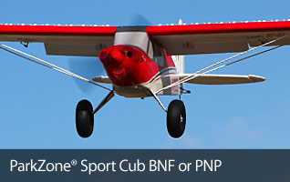 ParkZone Sport Cub 1.3m BNF and PNP