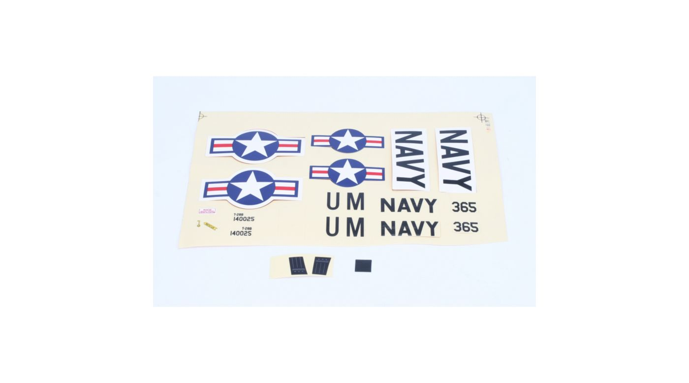 Image for Decal Sheet: UM T-28 from HorizonHobby