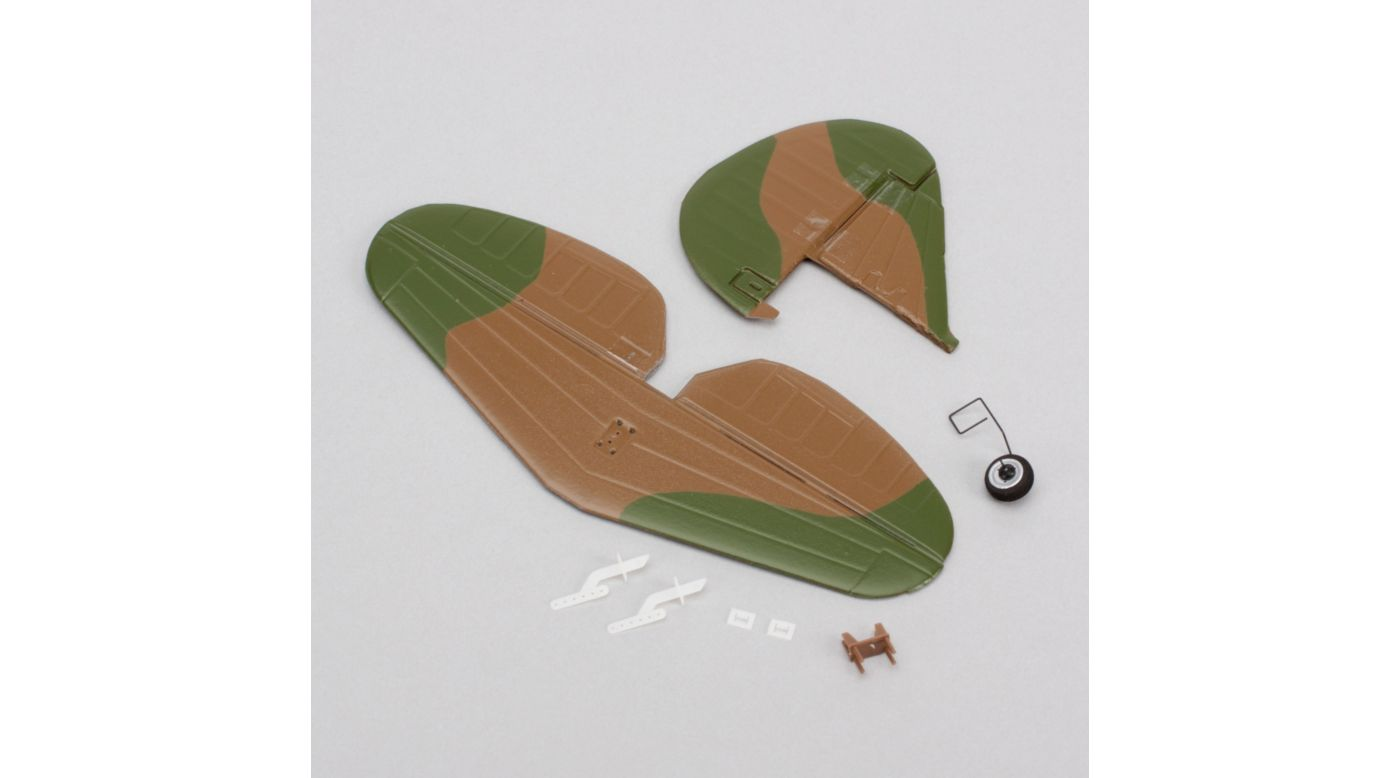 Image for Complete Tail with Accessories: Ultra-Micro P-40 Warhawk from HorizonHobby