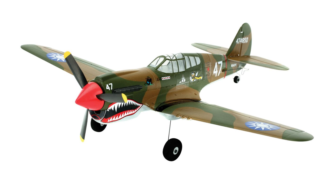 Image for UM P-40 Warhawk BNF with AS3X® Technology from HorizonHobby